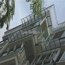 foshan tonon polycarbonate awning manufacturer balcony and patio awnings (TN0046)