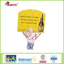 NingBo JunYe Dia 20.5 kids mini plastic basketball hoop