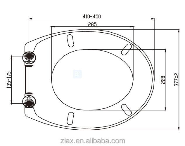 duroplast roter wc sitz mit absenkautomatik und quick release funktion view wc sitz oem. Black Bedroom Furniture Sets. Home Design Ideas