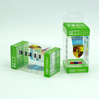 Custom small clear plastic packaging boxes,plastic packaging