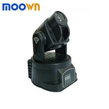 China supplier stage disco light rgb led 15w mini spot moving head light