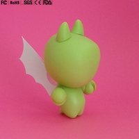 Custom Made 5'' inch Figure with transparent wings cute Plastic figurine Action Figure Kids Toys China Manufacturers