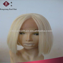 Heat Resistant Hair Short Bob Straight Blonde synthetic hair wig