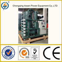 Movable used transformer oil regeneration equipment