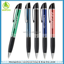 High quality customized logo plastic ball pen import stationery wholesale