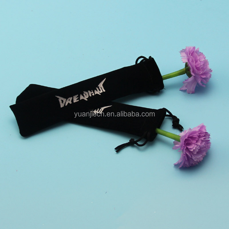 Custom Velvet Cutlery Pouch with Drawstring