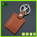 mode en cuir keychain animal