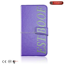 Manufature Factory wholesale and high quality leather flip case cover for apple iphone 3g