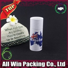AllWin new design gift packing paper tube recycled paper colored Pen tubes