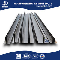 Carpet Tile Trim | Aluminum Control Joint with Neoprene Core