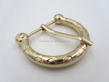 Wholesale Zinc Alloy Metal Double Pin Belt Buckle for Belt or Shoe