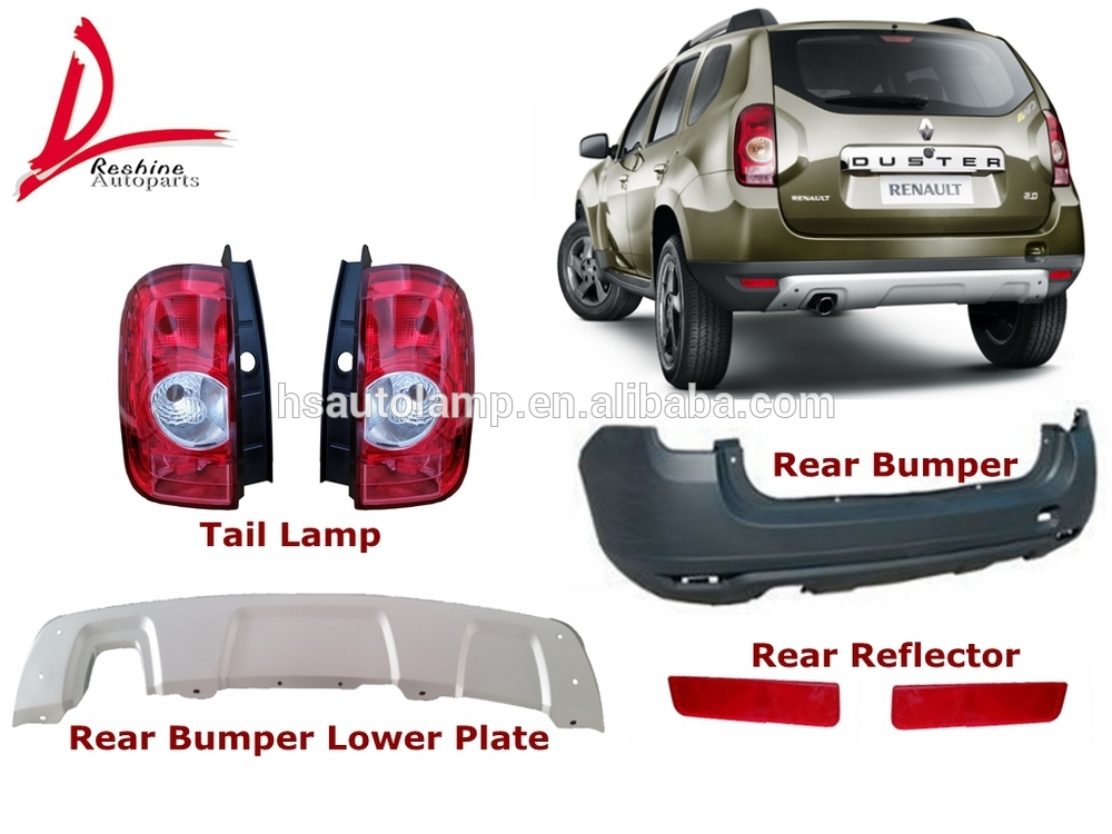 auto body parts rear bumper reflector for renault duster view rear bumper reflector for duster. Black Bedroom Furniture Sets. Home Design Ideas