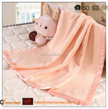 Natural pure 100% silk baby blanket