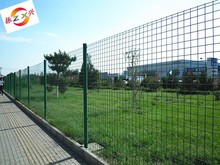 Double edge fencing/PVC coated Bilateral wire fence mesh