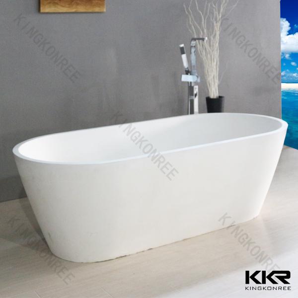 Free Standing Soaking Bathtubs 1600mm Freestanding Bath