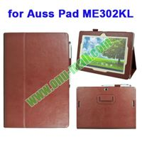 PU leather case smart cover for Asus Pad Me302KL with holder and armband