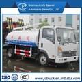 Sinotruck wangpai 4x2 4000l camión de succión fecales, vacío de succión fecales de camiones para la venta
