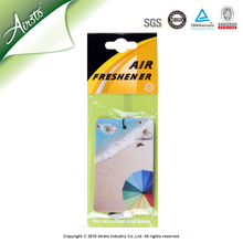Classic Absorbent Paper Car Air Freshener Manufacturer In China