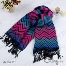 Winter 2015 pashmina new stripes oversized scarf shawl