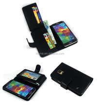 New Card Holder Wallet Leather Case Cover For Samsung Galaxy S5 I9600