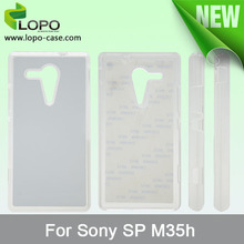 cover case for Sony SP M35H for sublimation from shenzhen