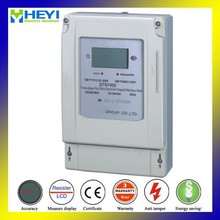 DTSY450 three phase four wire prepaid energy meter with rs485