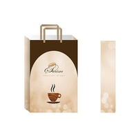 Craft material wholesale paper shopping bags