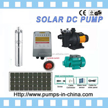 500w solar panel,high head solar water pump,high flow solar
