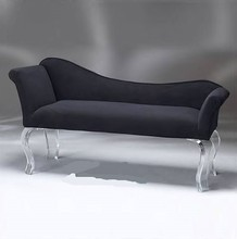 best selling European style Luxury acrylic living room sofa with coft cushion