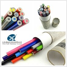 2013 hottest product recycled newspaper color pencil with paper box