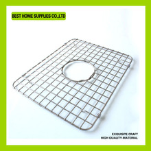 Square Flat Handled SS Crimped Barbecue Wire Mesh
