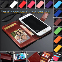 new products mobile phone case with card slot and holders ID book wallet leather cover,for iphone 6 phone case,for iphone 6 case