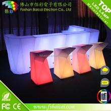 illuminated led bar counter/modern mini bar table