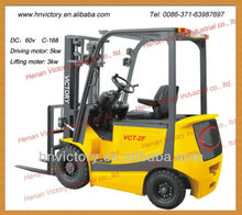 forklift tyre with comfortable seat