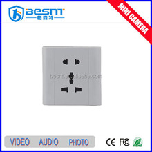 High quality hidden camera China hot sale power outlet mini camera 8gb memory card mini hidden camera BS-740