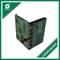 ALIBABA TRADE ASSURANCE CARDBOARD CD AND DVD DECORATIVE BOX F FLUTE ENVELOPE PACKAGING CARTONS WITH CUSTOM COLORS