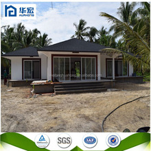 2015 Hot Sell cheap and quick assembly prefabricated house with light steel structure