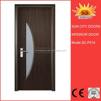 interior swinging kitchen doors mdf entry door SC-P014