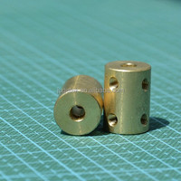 Rigid Coupler 5mm to 5mm L22 in Brass
