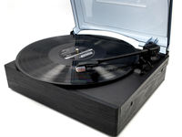 Back To Vinyl! 3 Speed Belt-Driven Turntable, Low Price turntable