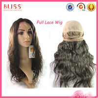 Wholesale China Best Quality 100% Virgin Brazilian Human Hair Full Lace Wig and U Part Wig Hot Sale for African