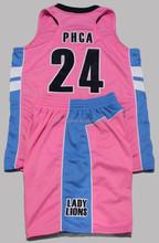 High Quality Full Custom Tackle Twill Basketball Uniform