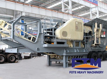 cost/fees reduced mobile crusher with best price