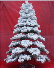 Fashion new products pvc frost christmas tree