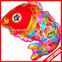 traditional Chinese new year gold fish helium balloons for kids