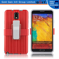 Convenient Support Clip Back Cover for Samsung for Note 3 Case PC Material