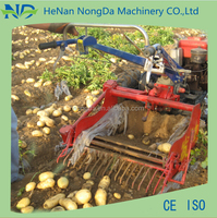Combined self-loading sweet potato harvester