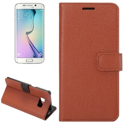 China Alibaba Factory Price Leather Wallet Case for Samsung Galaxy S6 Edge Plus Case
