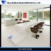Modern living room furniture european classical dining table and chair
