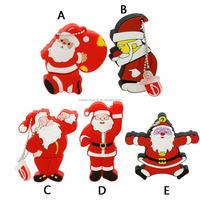 Hot sale usb flash pendrive 64gb flash drive 32g16g8g4g Santa Claus Series flash card Christmas gifts memoria usb free shipping